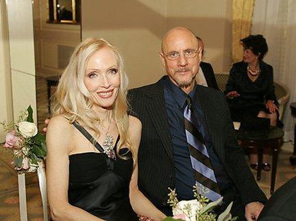 Luke's award Caroline and Helmut